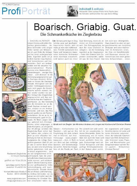 Pressemitteilung neuer Küchenchef